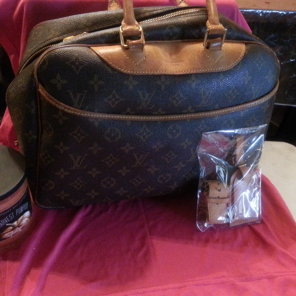 Louis Vuitton Handbags - Deauville Louis Vuitton Bag Brown